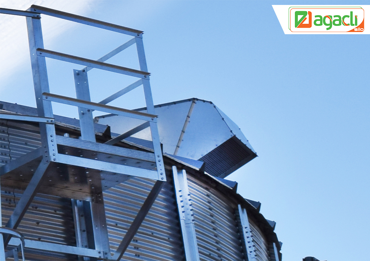 It Is An Effective Fan Especially Used In Pitched Roofs To Discharge Humid  Air And Grain Dust Inside The Silo. To Run This Fan, It Must Be  Simultaneously ...