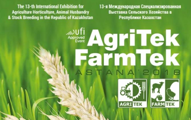 Agritek Farmtek, Kazakhstan 14 – 16 Mars